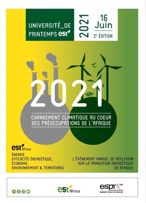 Université de Printemps E5T (2ème édition)